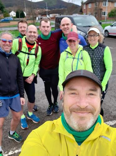 Sunday Marathon Training group