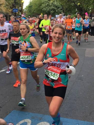 London Marathon Megz Judge