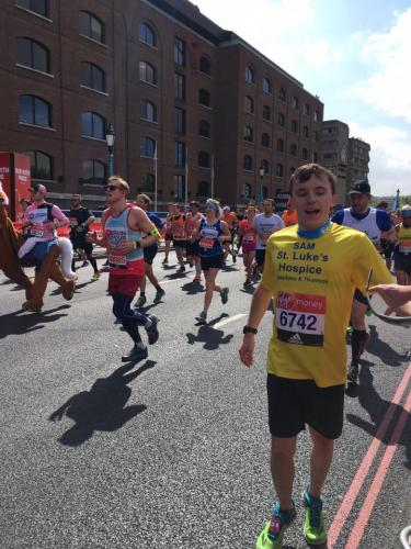 London Marathon Sam Marshall