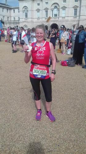 London Marathon Suzie Lane 2018